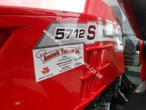 Massey Ferguson MF5712 Tractor - 10