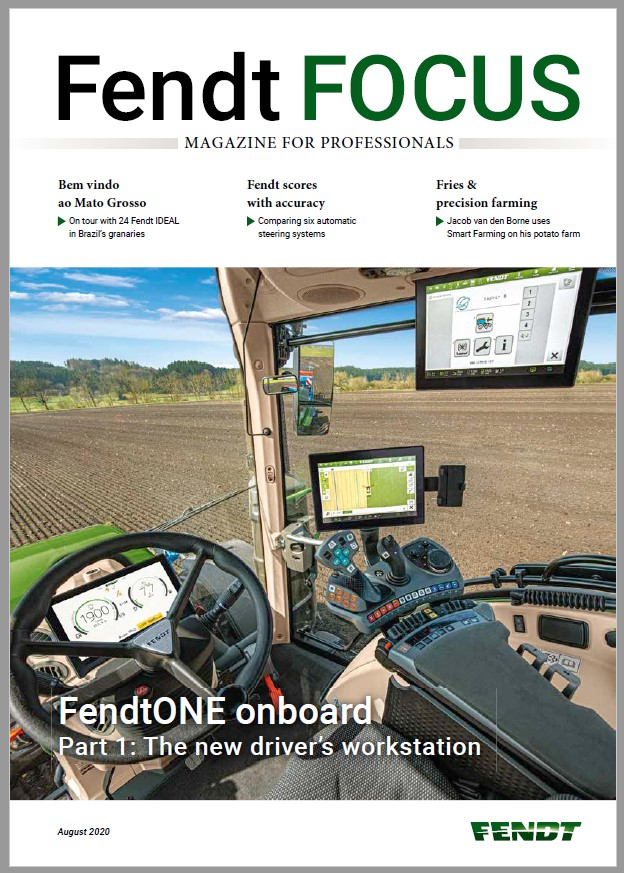 Fendt Focus - August Front Cover
