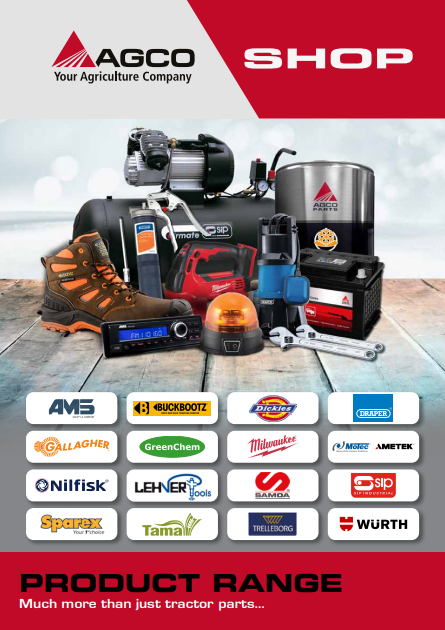Agco Shop Front Page