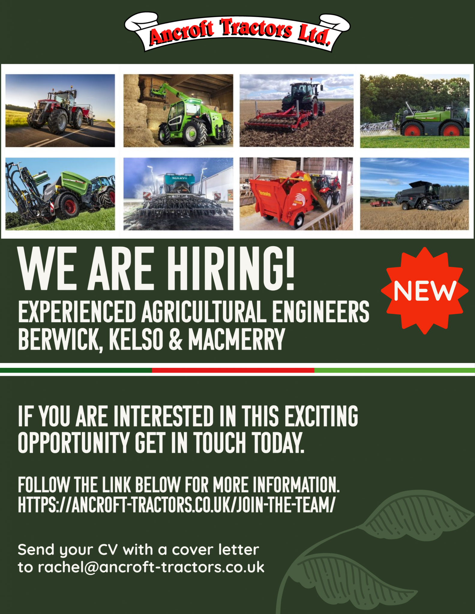 Experienced Agricultural Engineers
